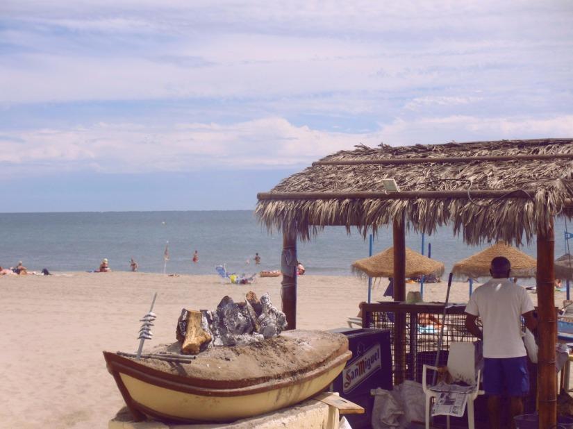 Espeto on the beach in Costa del Sol