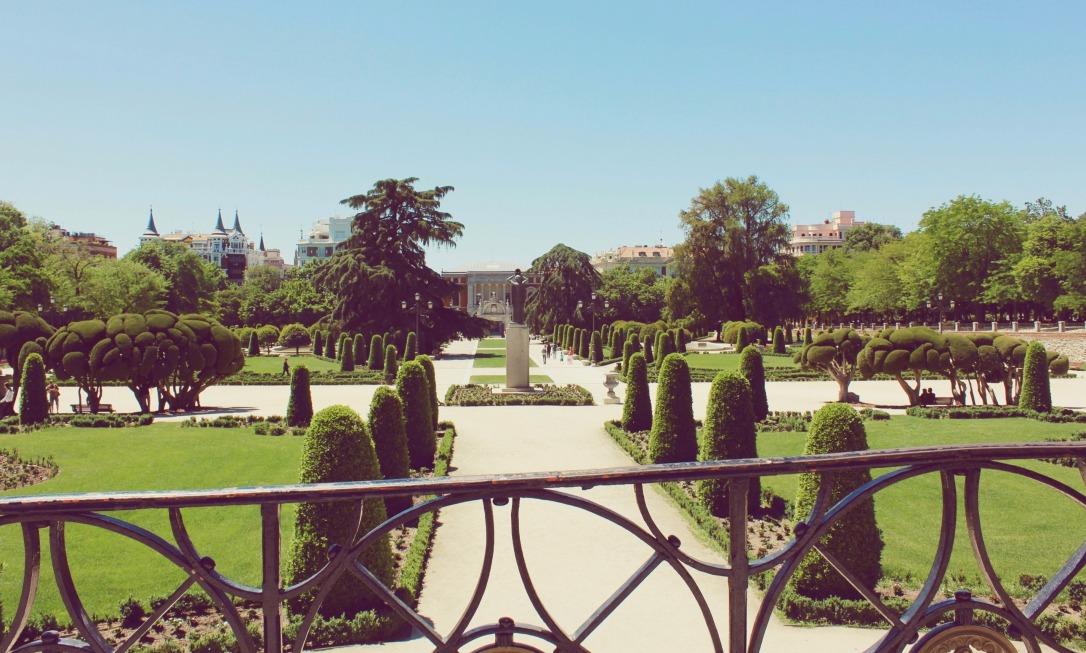 Retiro Park Madrid - gardens