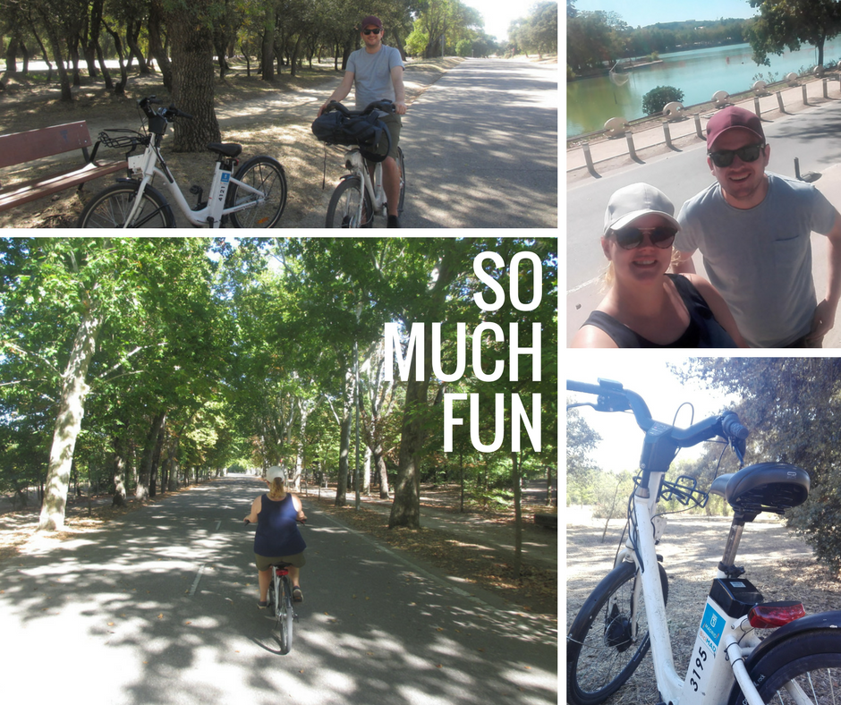Photo collage - Bike ride 2