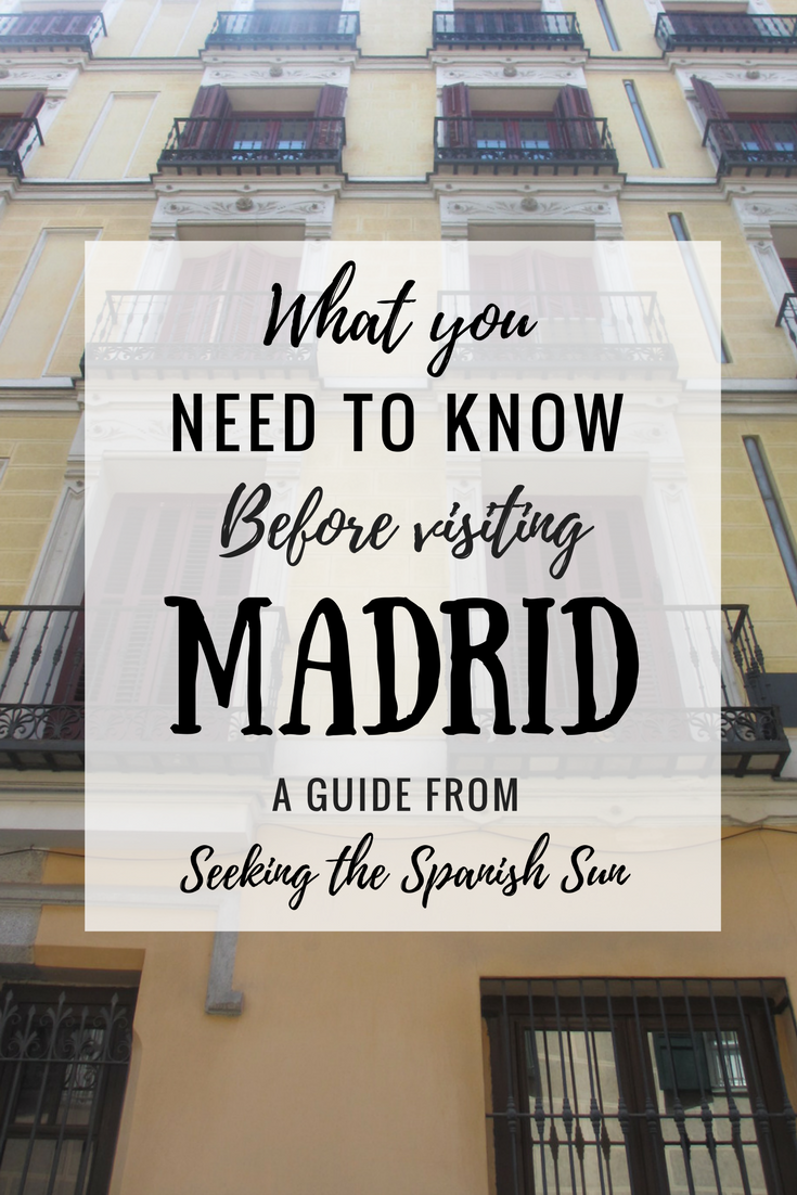 Pin - Need to know MADRID