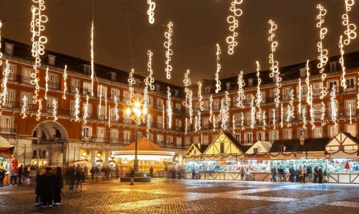 Christmas in Spain 5 - Madrid PLaza Mayor market