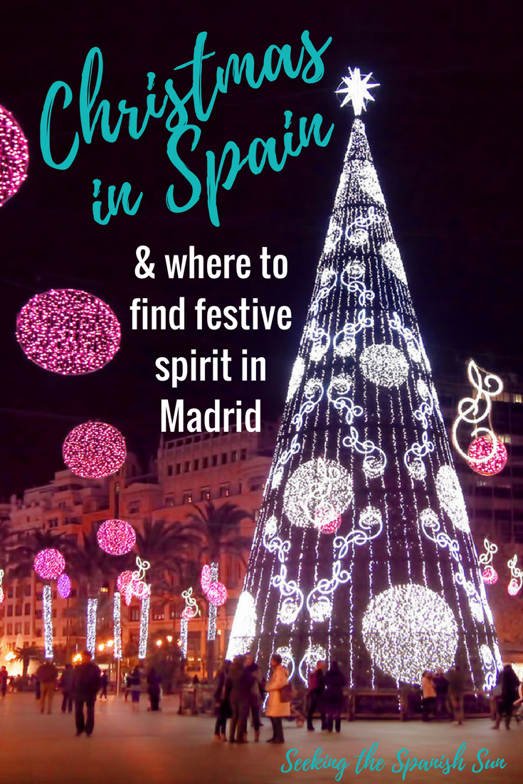 christmas in spain In spanish, christmas eve is called la noche buena, which translates to the  good night in spain, the holiday is celebrated with a large.