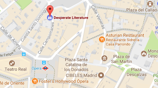 Desperate literature map
