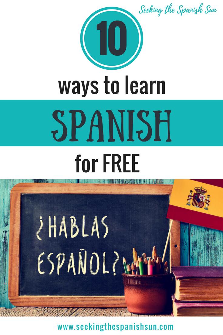 P - 10 ways to learn Spanish