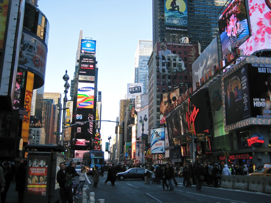 Travel - Bustling New York city in USA