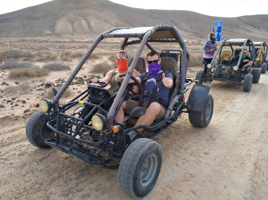 Dune buggy fun activities in fuerteventura, canary islands