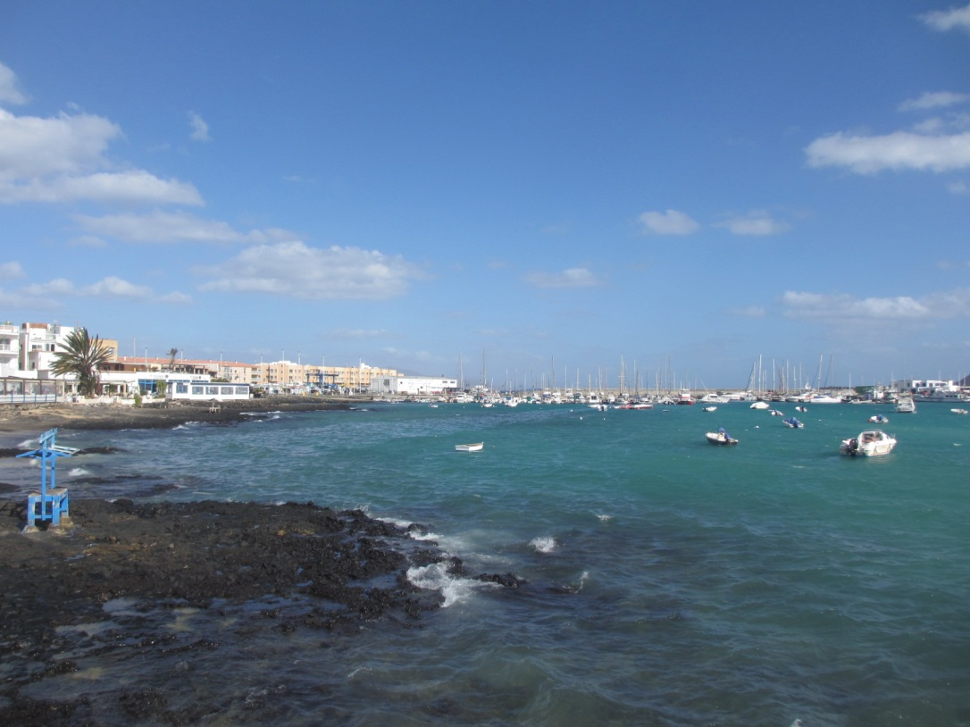 Fuerteventura harbour town
