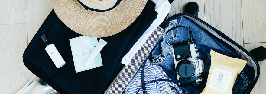 Packing tips for traveling light from a travel blogger