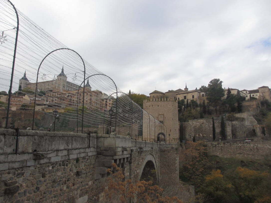 Toledo city entrance
