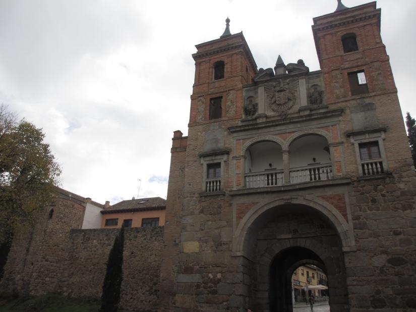 Toledo city walls