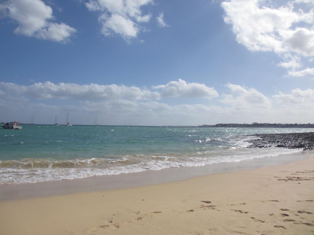 Corralejo town beach