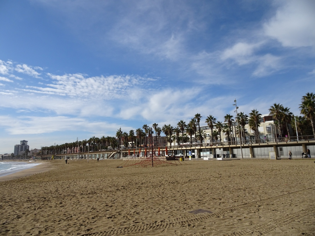 A weekend in Barcelona - Barceloneta beach