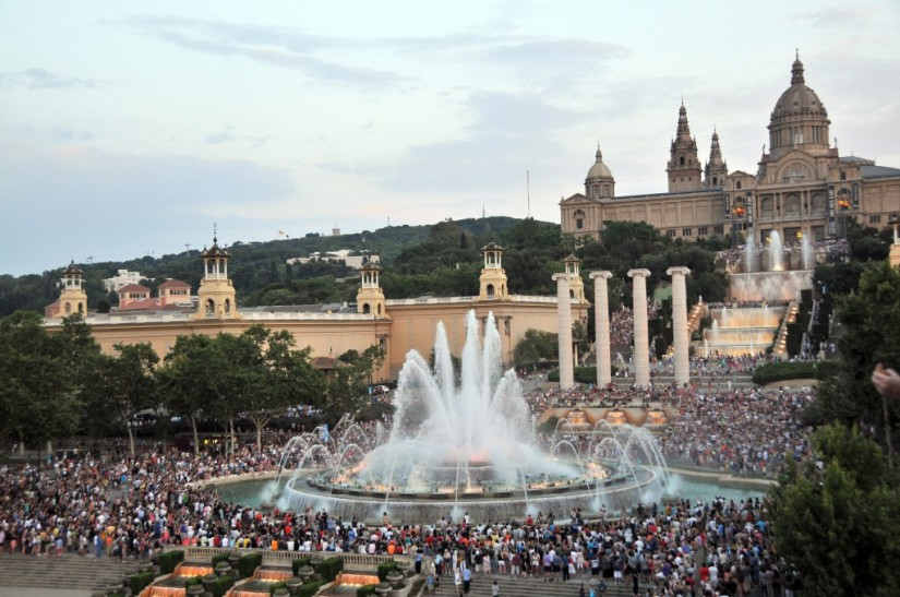 A weekend in Barcelona - Font Magica