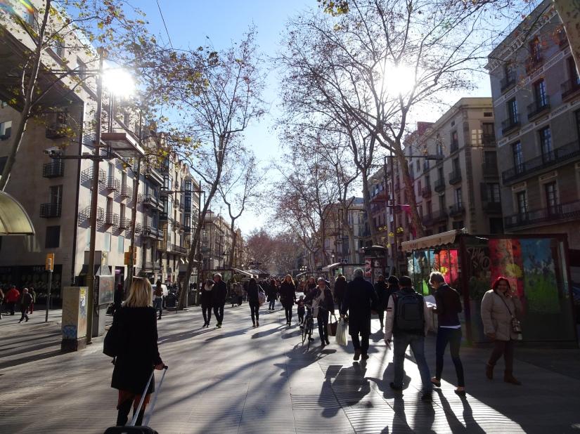 A weekend in Barcelona - La Rambla