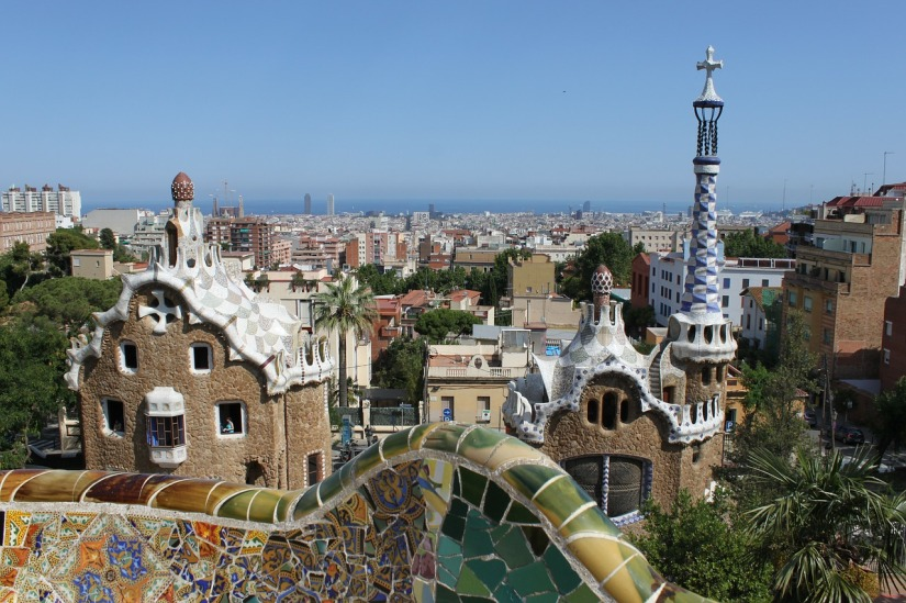 A weekend in Barcelona - Park Guell