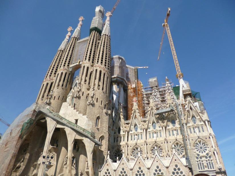 A weekend in Barcelona - Sagrada Famillia