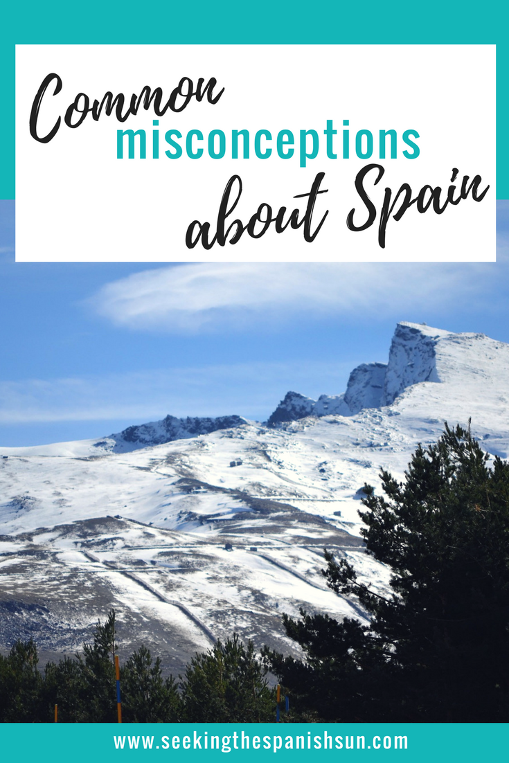 Common misconceptions of Spain