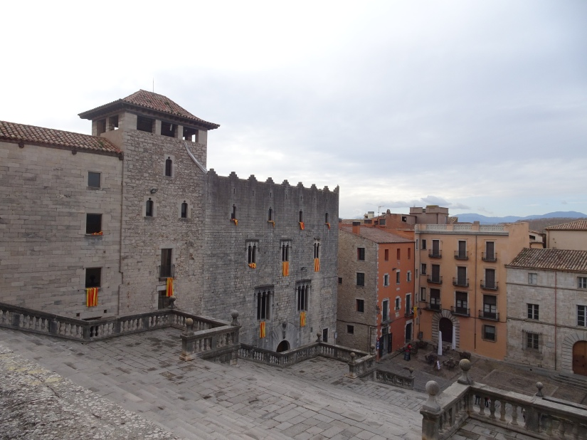 Exploring Girona - Cathedral stairs
