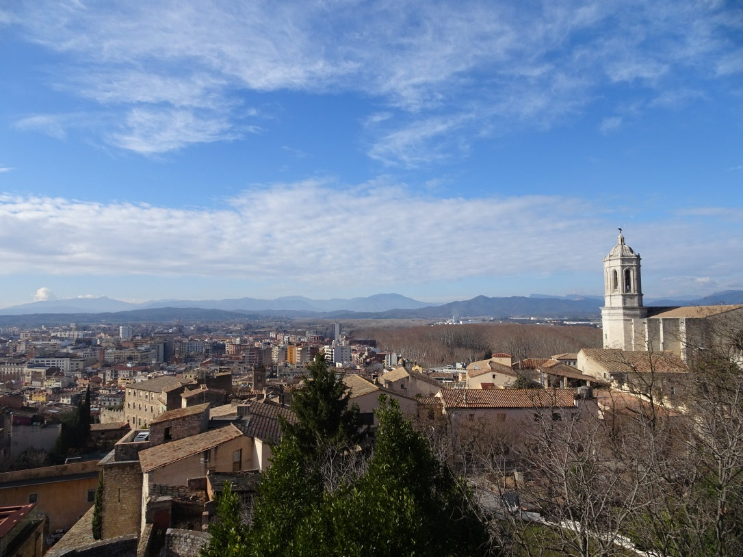 Exploring Girona - City Walls