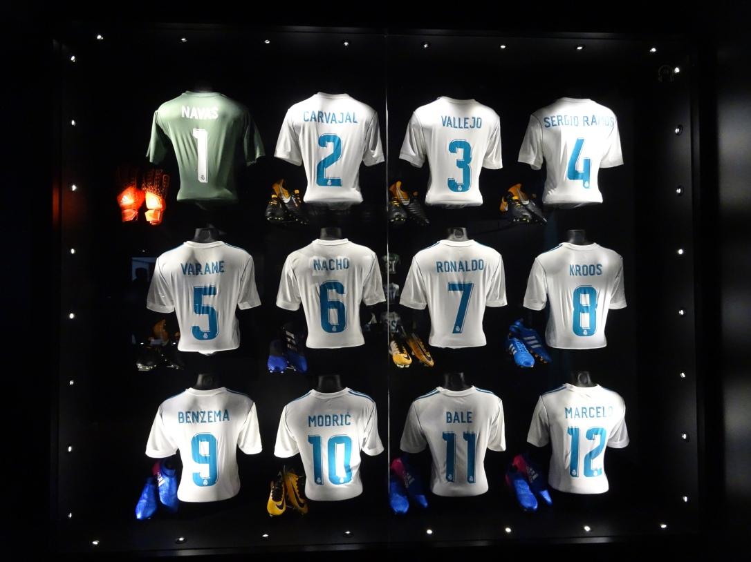 Bernabeu Team shirts