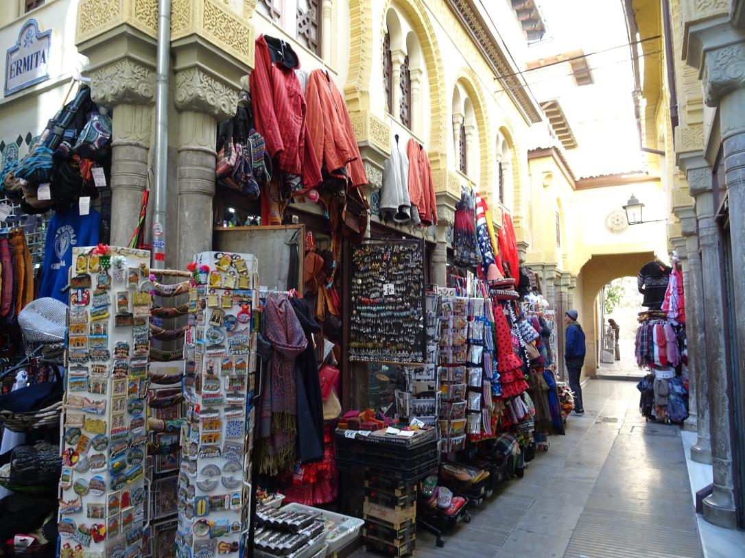 Granada market stalls
