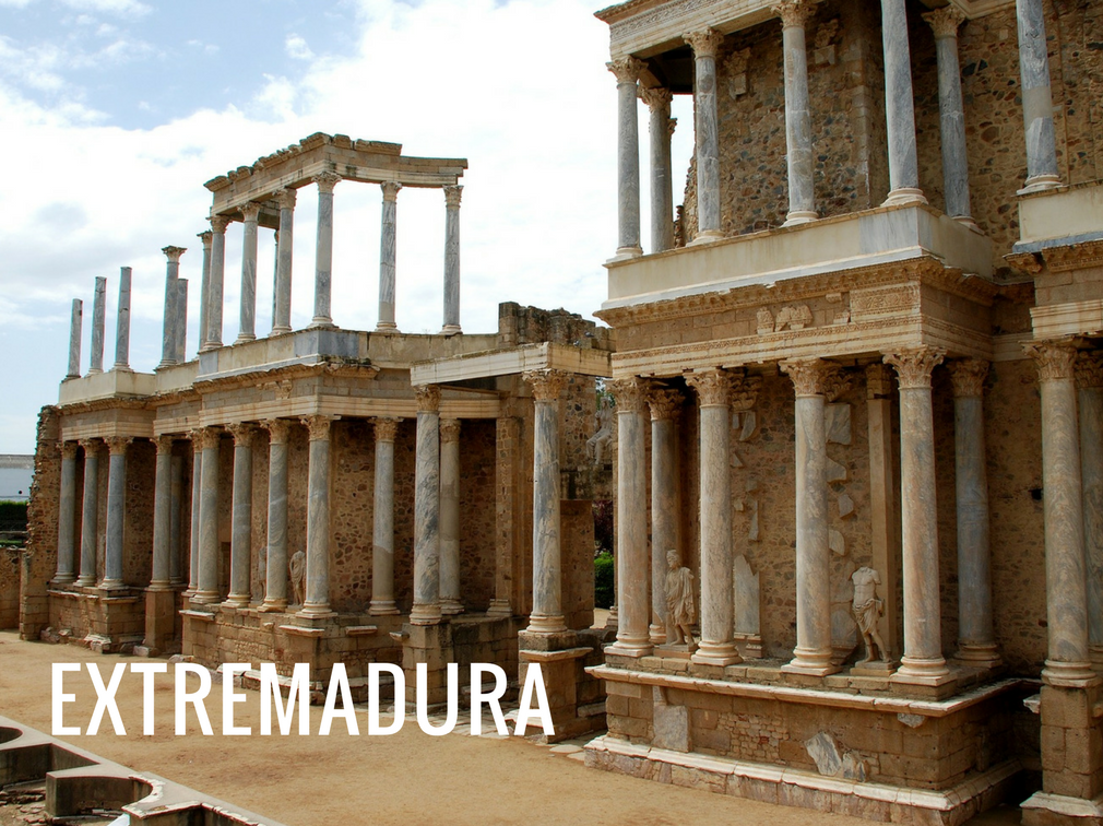 The different regions of Spain - Extremadura