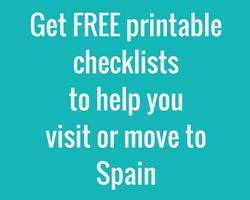 Get free printable Spain checklists